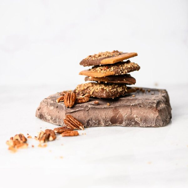 Signature Toffee - chocolate and pecan